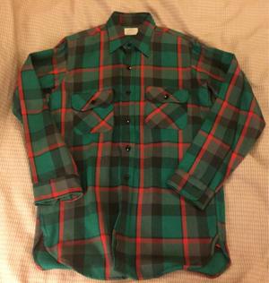 アメリカ仕入れ情報#56 デッドストック発見#26 60s  マチ付きSears ヘビーネルシャツ - ショウザンビル mecca BLOG!!