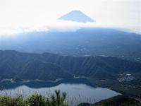 富士 青い富士山を見ながら鬼ヶ岳から王岳を歩く     Mount Onigatake in Fuji-Hakone-Izu National Park - やっぱり自然が好き