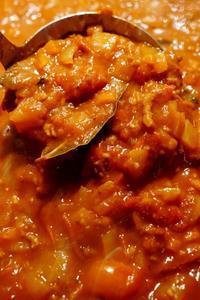 ■菜園発【トマトミートソース】採れ過ぎミニトマト50個を贅沢に投入です^0^ - 「料理と趣味の部屋」