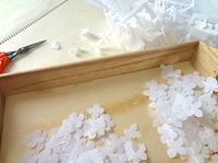 はさみと布 - handmade flower maya