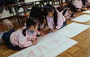 芸術の秋☆☆ - 中かがや幼稚園わくわくブログ