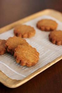 しほさんの「豆乳きなこビスケット」とシルパン - Takacoco Kitchen