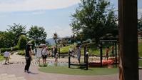 笛吹川フルーツ公園とほったらかし温泉 - ムサコママの育児日記