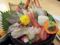 【上越・高田をうろうろ】「海の幸 味どころ 軍ちゃん」で夕食 - お散歩アルバム・・秋空の頃