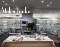 名古屋 三越 Atelier Junko テーブルセッティング autumn - Atelier Junko