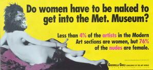 美術界のゲリラ・ガールズ、30年後も意気軒高 - FEM-NEWS
