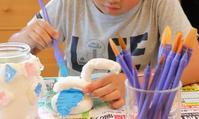 恐竜小物入れ完成 - 大阪府池田市 幼児造形教室「はるいろクレヨンのブログ」