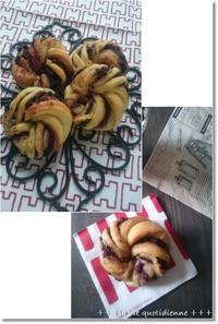 3次発酵?ブルベリ&ブラックココアクッキーdeおやつパンと私の1日 - 素敵な日々ログ+ la vie quotidienne +