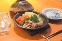 お野菜たっぷりの土鍋蒸し - まほろば食日記