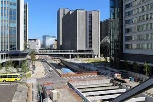 笹島線と椿町線 - 名古屋駅前の風景