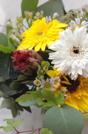 ワインとお花のギフト -