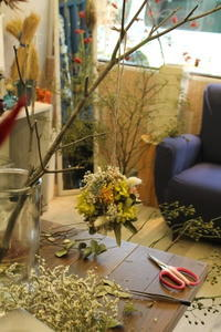 今日のリース達 - 北赤羽花屋ソレイユの日々の花