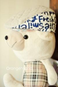 ハンチング帽子 とにかく、市販のがなくて・・・ - Orange*nana:はりねずみが今日も作っちゃうよぉ!