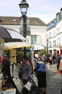 『ランデヴー』 そしてサクレクール寺院の広場へ‥ - くりくりのいた午後 bis