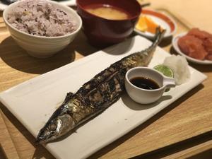 「秋刀魚定食」@さち福や(mewe橋本) - よく飲むオバチャン☆本日のメニュー