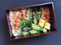 9/21 いわしの生姜煮弁当 - ひとりぼっちランチ