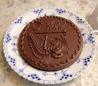 ポーランドのチョコ菓子 - handvaerker ~365 days of Nantucket Basket~