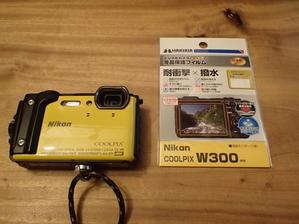 NIKON W300用の保護フィルム。 - 沖縄の風