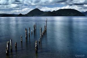 湖底の杭 - GreenLife