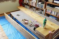 【ただ今我が家は工事中】 壁一面の本棚に、ぜんぶ託しちゃうお片付け。 - ツルカメ DAYS