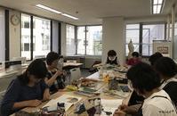 ヴォーグ学園東京校♪デコレクションズさんのハギレでアームピンクッション - neige+ 手作りのある暮らし