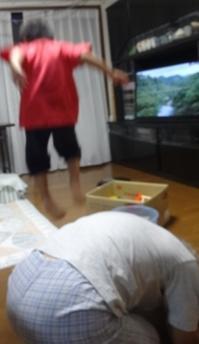 おじいちゃんで跳び箱 - がちゃぴん秀子の日記