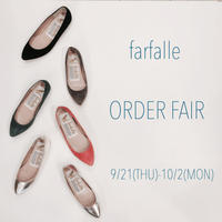 farfalle ORDER FAIR!! - BRANCHレディースBlog