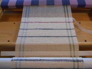 卓上織り機で裂き織り    Ⅲ - あずきの裂き織りの部屋