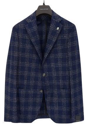 TAGLIATORE タリアトーレ ウールコットンカシミアチェックジャケット(モンテカルロ) - 下町の洋服店 krunchの日記