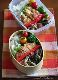 チキン南蛮 ✿ ミニ豚丼(๑¯﹃¯๑)♪ - **  mana's Kitchen **