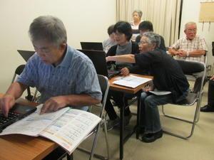 9月20日(水)の授業風景 -