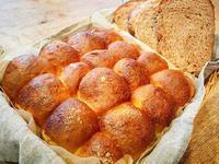 林檎のちぎりパンとチョコ食パン… - miyumiyu cafe