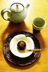 栗菓子と鍋敷き - クラシノカタチ