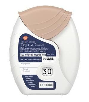 FDAでトリプル吸入製剤:トレレジー®エリプタ承認 - 呼吸器内科医