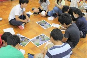 新潟市立桜ヶ丘小学校においてワークショップ「想像を超えた世界」を行いました - 国際交流インストラクター