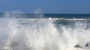 台風一過のオホーツク海 - 瀬島匠 アトリエクラージュ