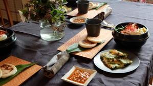 韓国料理レッスンありがとうございました - 料理教室 A table!(ア ターブル!)