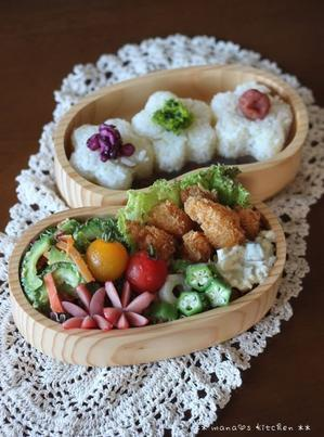 bento&晩ご飯 ? 少しだけ秋の気配(*???)♪ - **  mana's Kitchen **