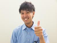 爽やかな笑顔 - 新天地はコの字型!