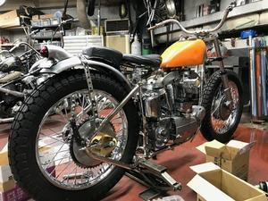 まずは一つ、クリア - Cyla motorcycle DEPT.