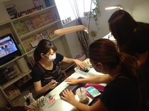 STAFF練習会&ミーティング♪ - Rafs Nail ラフズネイル☆ブログ