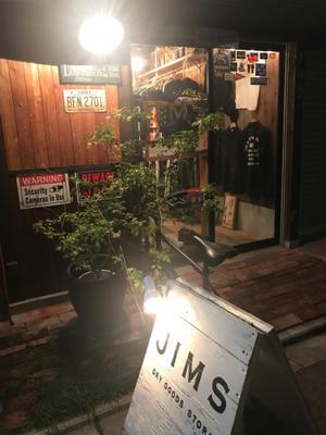 2017年A/W入荷日! - JIMS STORE