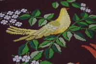 ノルディスカクロスステッチ作品集『鳥と白い花』 - あくびノオト