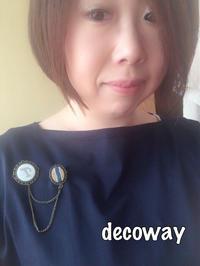 ご縁を繋いでくれたイニシャルブローチ - Smile Decoway!