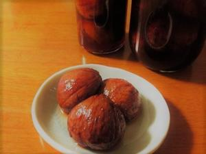タルトタタンと栗の渋皮煮 - la la la kitchen 2 ♪