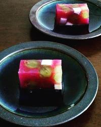<レシピ掲載のお知らせ> モザイクぶどう - 千葉の小さな季節の料理とお菓子の教室―Cooking workshop 8