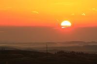 大観峰から望む朝日Ⅱ。 - 青い海と空を追いかけて。