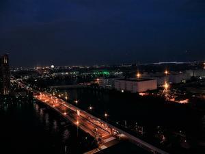 観覧車から夕景を観る(お台場パレットタウン) - フォーサーズ(Eー1 or Eー520、マイクロE-M1、E-M5)とPENTAX K-01にて、徒然なるままに・・・