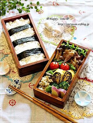 豚の生姜焼き弁当と今週の作りおき♪ - ☆Happy time☆