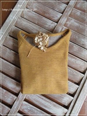 手作り ウールのワンピースを作って。。冬が来るのが少し楽しみに♪** - &m   handmade with linen,cotton...